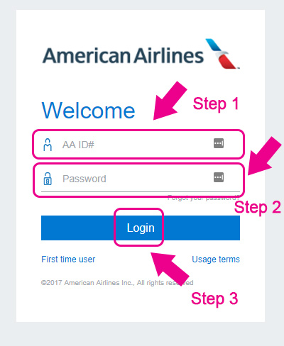 american airlines jetnet login