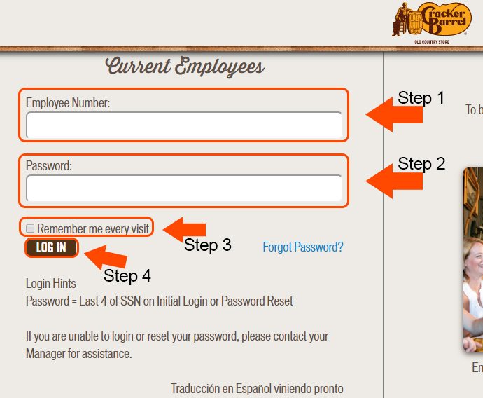 cracker barrel employee login website