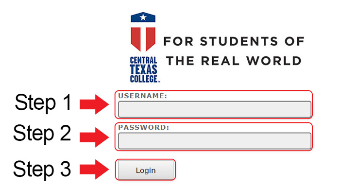 central texas college account login