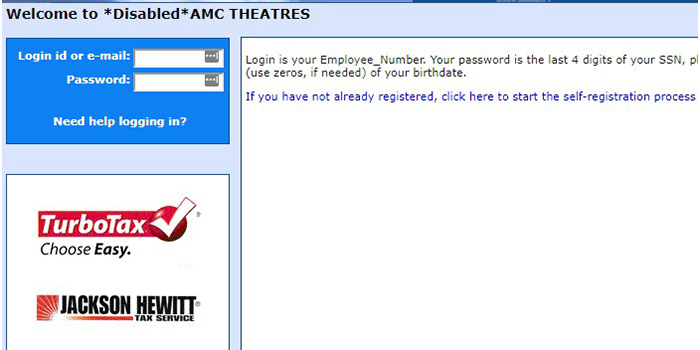 AMC Theatrics Login