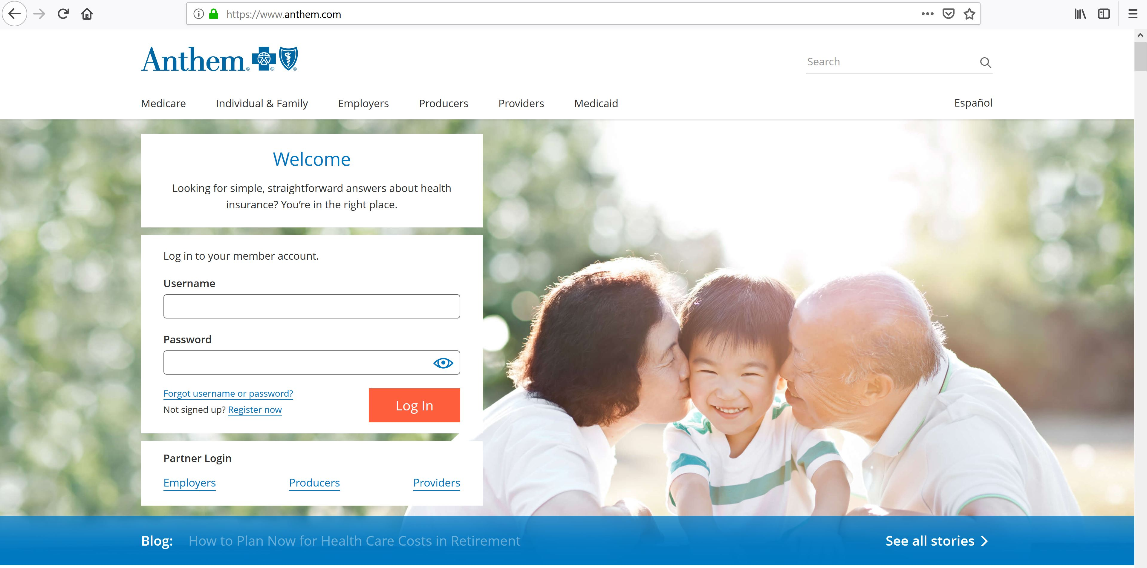 Anthem Blue Cross Blue Shield Login | Login Assistants