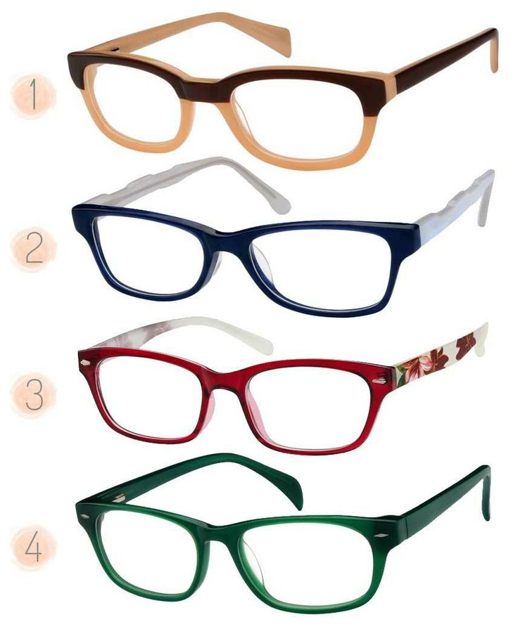 Different Kinds Of Eye Glasses