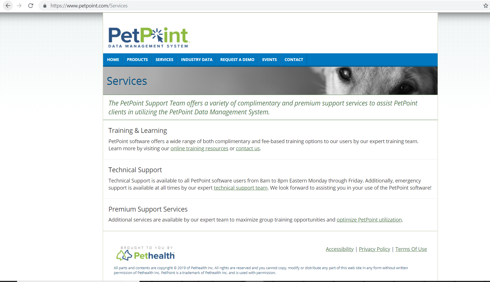 Petpoint Services