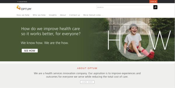 optum website